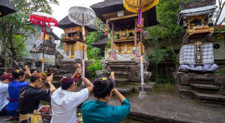 Bali Galungan Religious Ceremonies